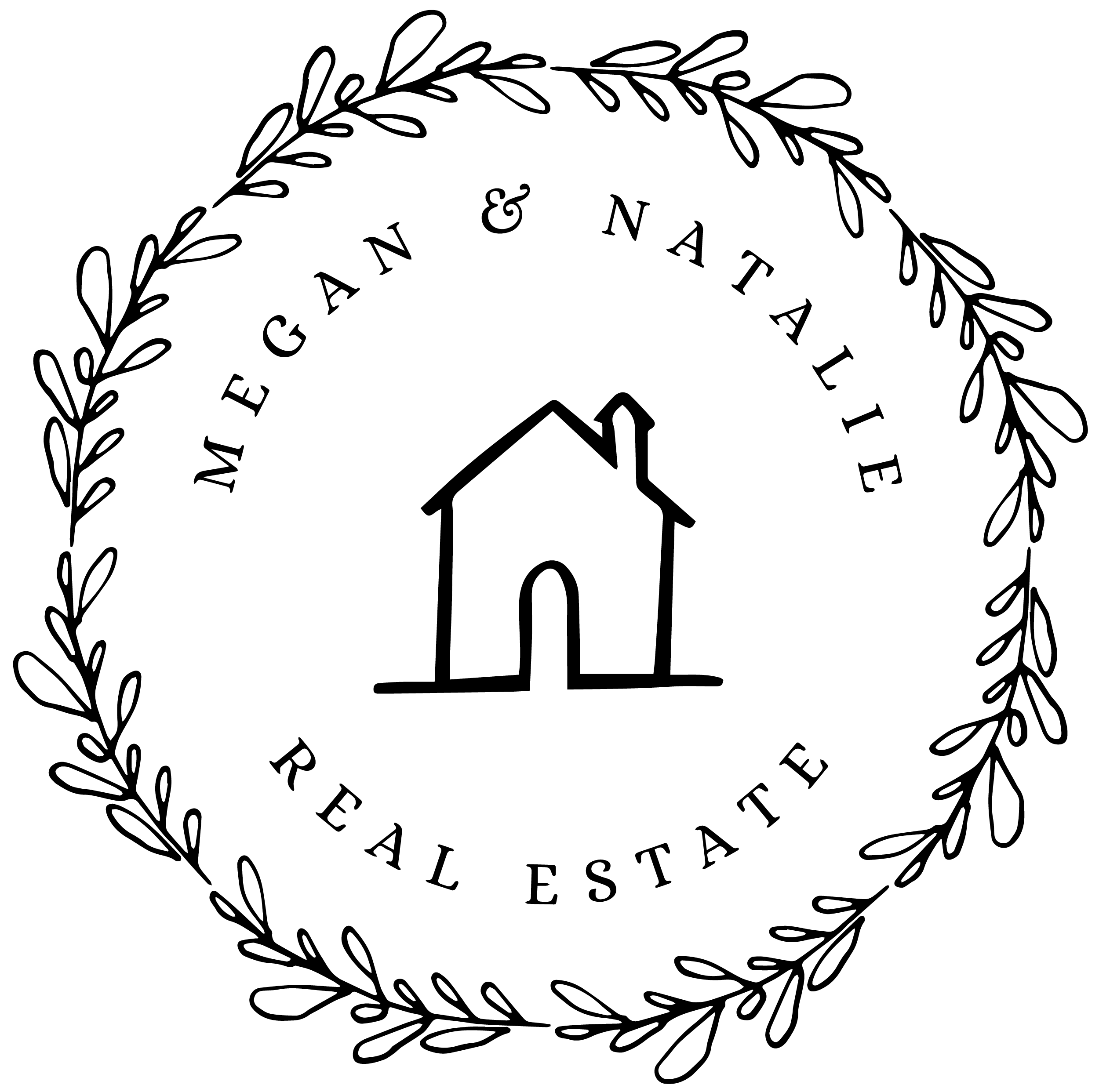 Megan and Natalie Real Estate Logo